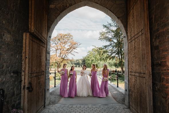 Классическая свадьба в замке. Брюссель, Бельгия - фото №40