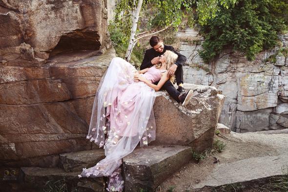 Романтическая фотосессия в каньоне - фото №17
