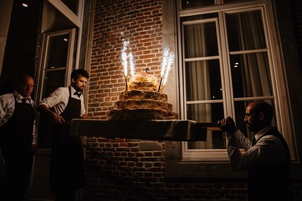 Классическая свадьба в замке. Брюссель, Бельгия - фото №60