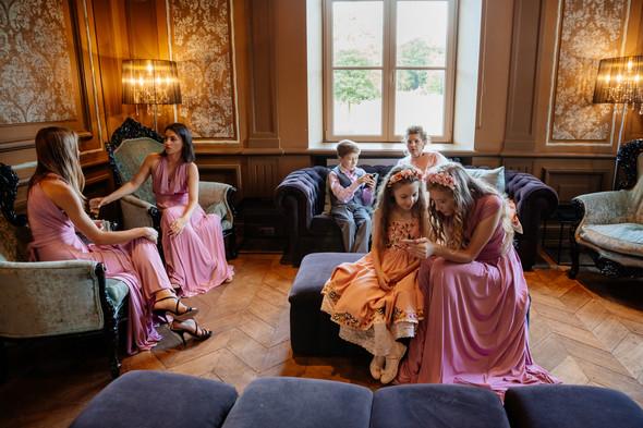 Классическая свадьба в замке. Брюссель, Бельгия - фото №63
