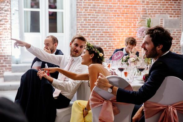 Классическая свадьба в замке. Брюссель, Бельгия - фото №53