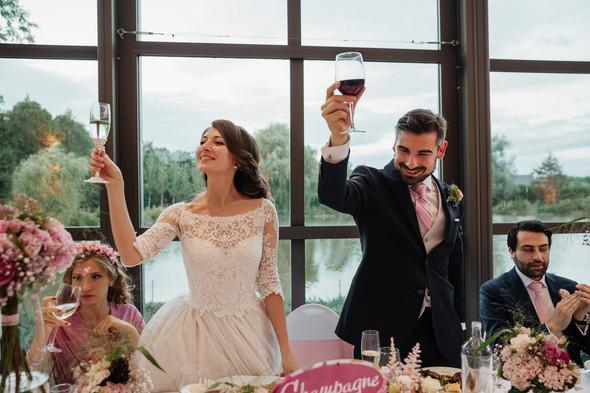 Классическая свадьба в замке. Брюссель, Бельгия - фото №43
