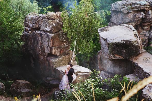 Романтическая фотосессия в каньоне - фото №18
