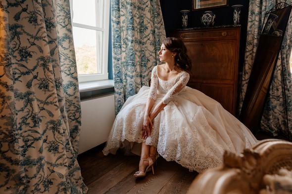Классическая свадьба в замке. Брюссель, Бельгия - фото №5