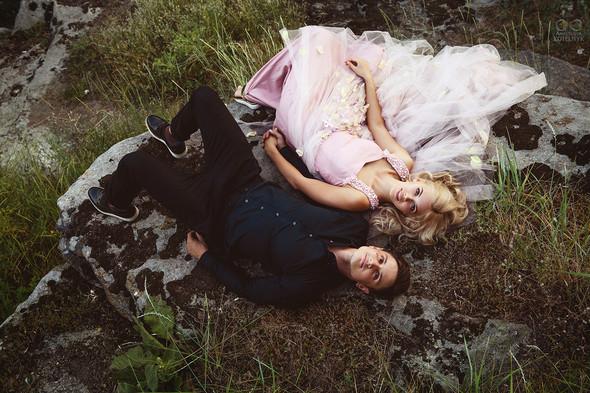 Романтическая фотосессия в каньоне - фото №21