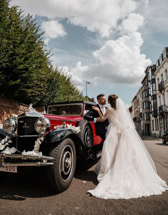 Классическая свадьба в замке. Брюссель, Бельгия - фото №31