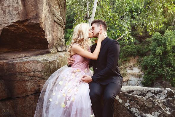 Романтическая фотосессия в каньоне - фото №16