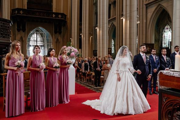 Классическая свадьба в замке. Брюссель, Бельгия - фото №23