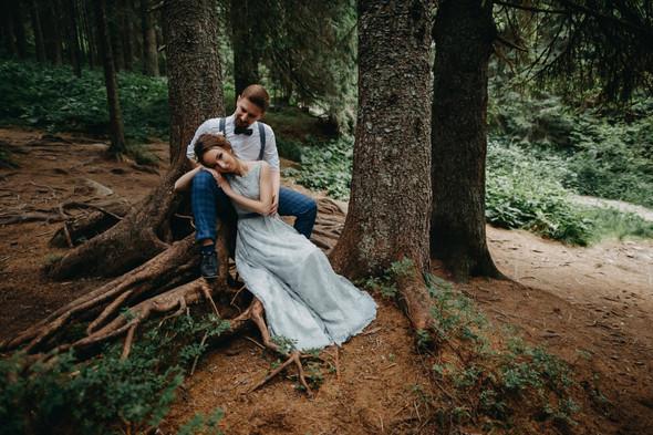 Лесная свадьба в Карпатах - фото №63