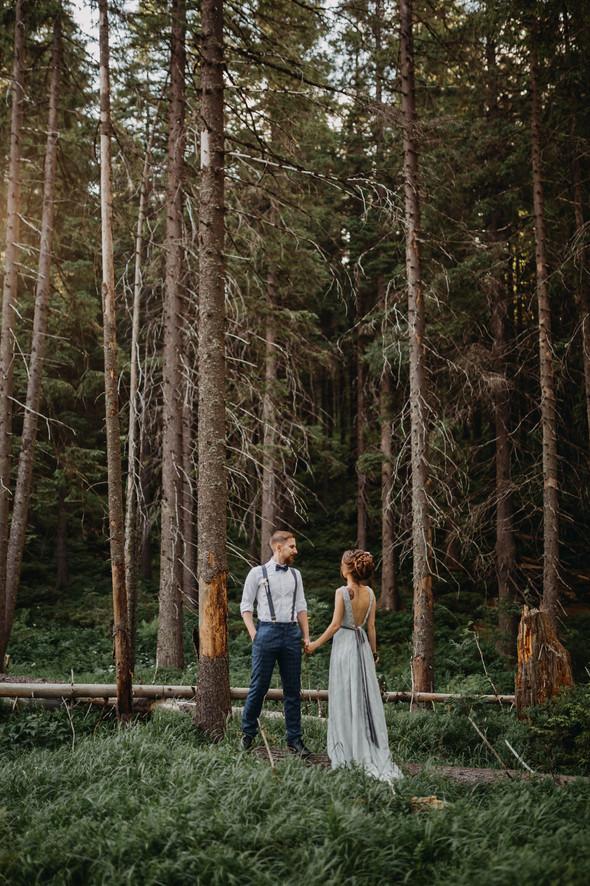 Лесная свадьба в Карпатах - фото №43