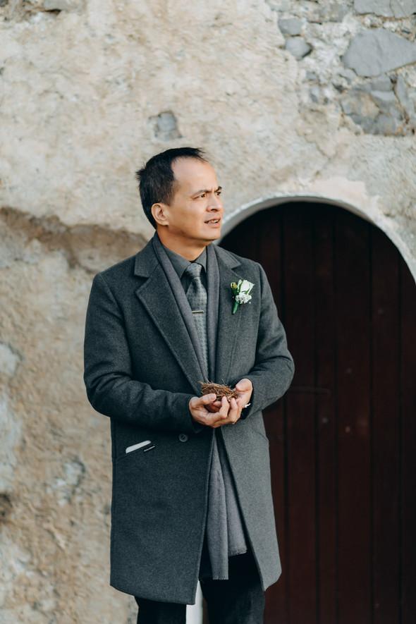 Позитивная семейная свадьба в Италии - фото №56