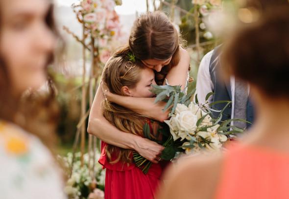 Красивая испанская свадьба на побережье - фото №51
