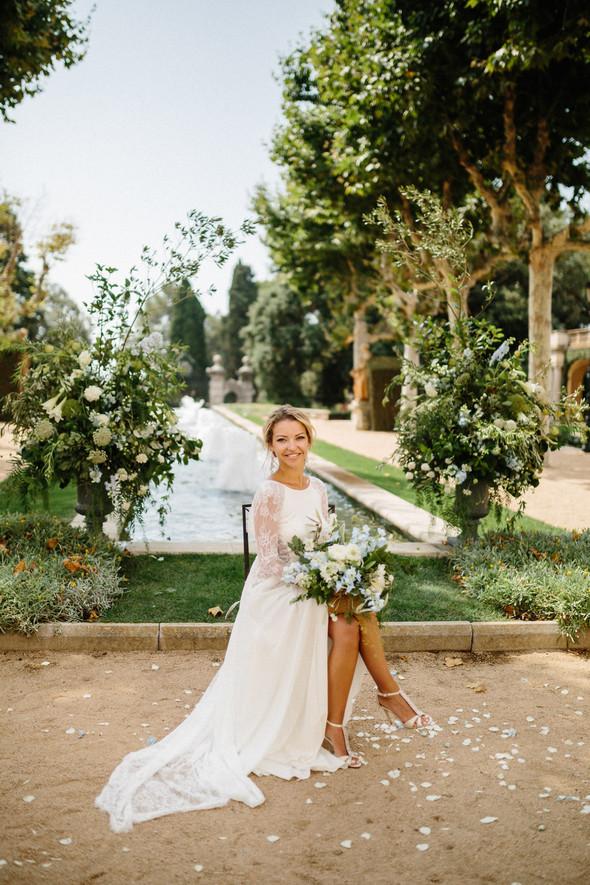 Испанская семейная свадьба на вилле недалеко от Барселоны - фото №48