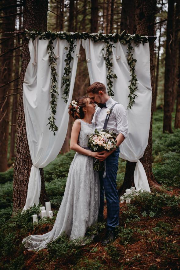 Лесная свадьба в Карпатах - фото №66