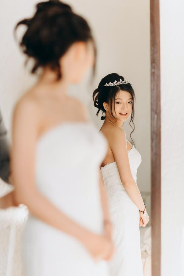 Позитивная семейная свадьба в Италии - фото №36