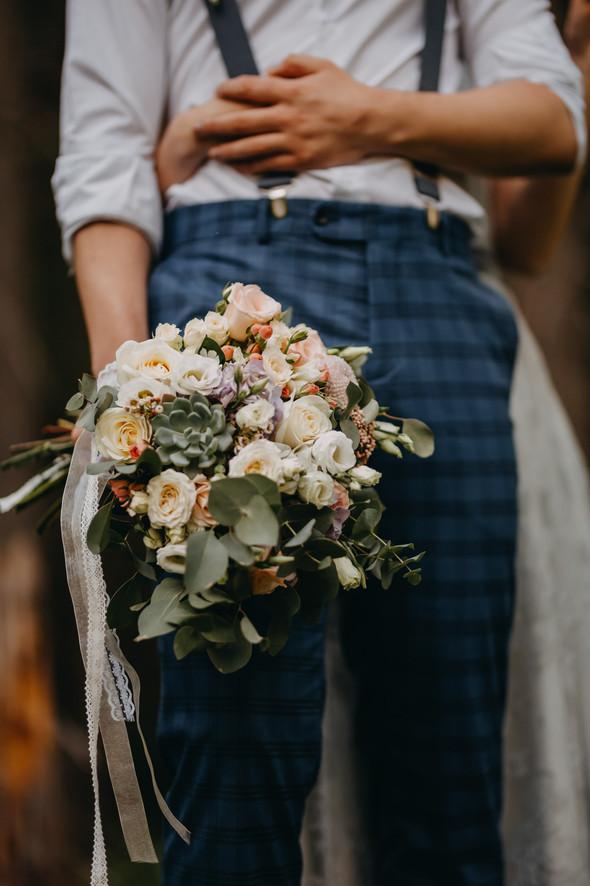 Лесная свадьба в Карпатах - фото №47