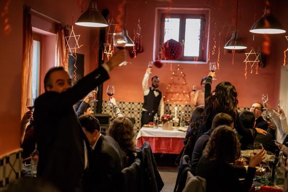 Уютная свадьба в Салерно - фото №118