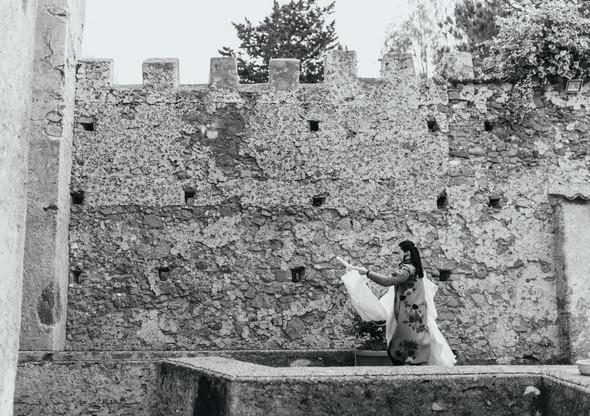 Позитивная семейная свадьба в Италии - фото №5