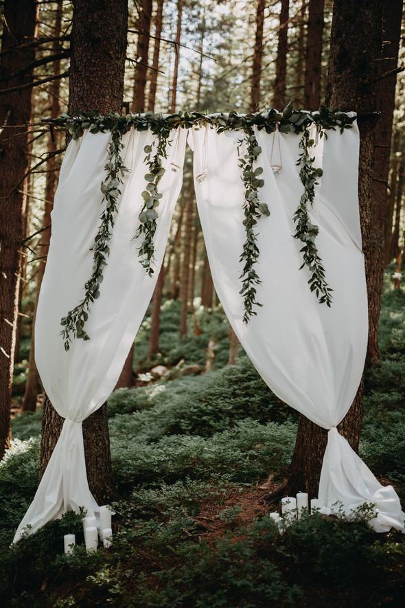 Лесная свадьба в Карпатах - фото №7