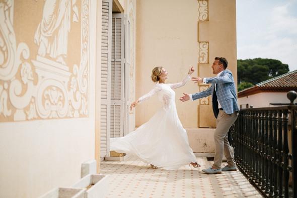 Испанская семейная свадьба на вилле недалеко от Барселоны - фото №58