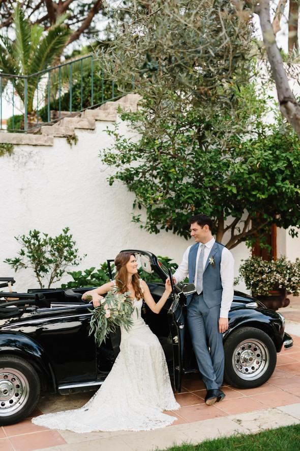 Красивая испанская свадьба на побережье - фото №67