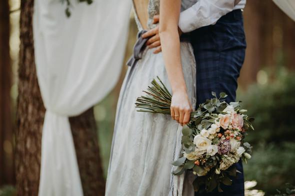 Лесная свадьба в Карпатах - фото №14