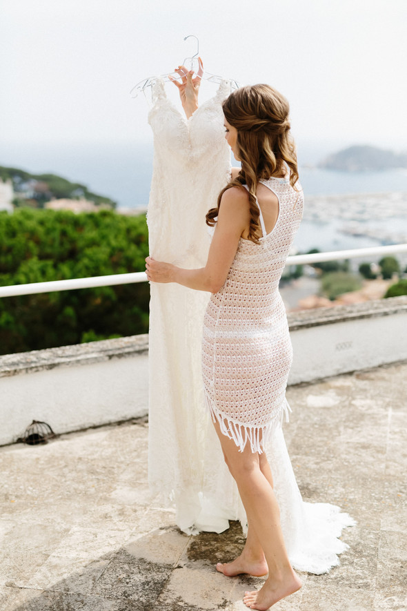 Красивая испанская свадьба на побережье - фото №18