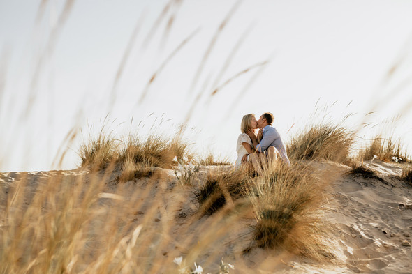 Пляжная послесвадебная съемка и Испании - фото №4