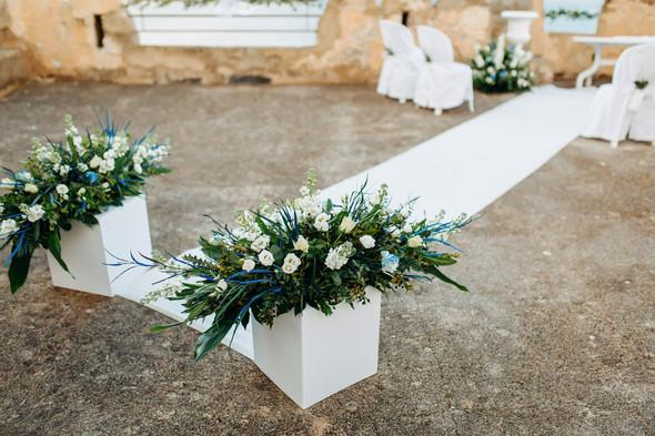 Позитивная семейная свадьба в Италии - фото №47