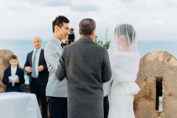 Позитивная семейная свадьба в Италии - фото №67