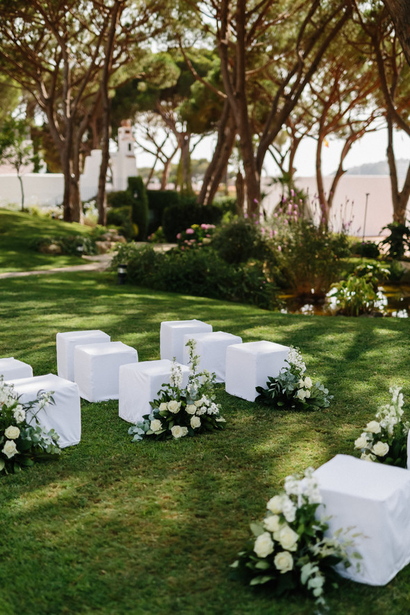 Красивая испанская свадьба на побережье - фото №26