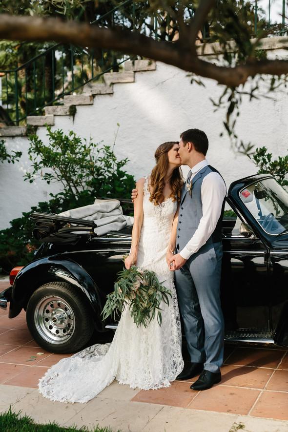 Красивая испанская свадьба на побережье - фото №69