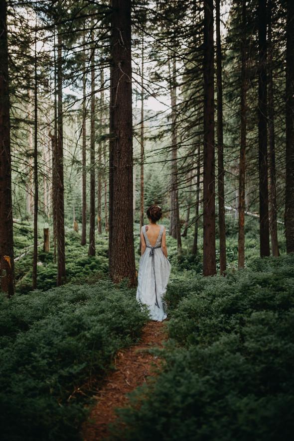 Лесная свадьба в Карпатах - фото №2