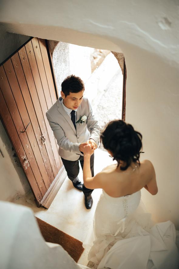 Позитивная семейная свадьба в Италии - фото №86