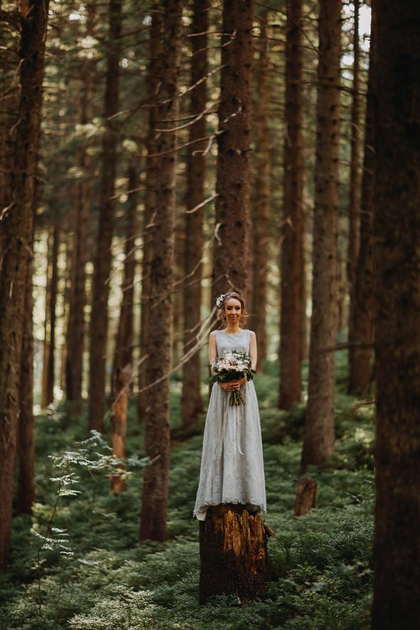 Лесная свадьба в Карпатах - фото №29