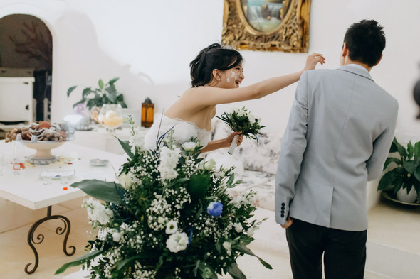 Позитивная семейная свадьба в Италии - фото №129
