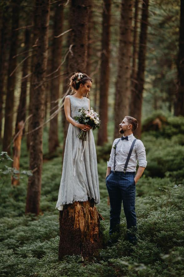 Лесная свадьба в Карпатах - фото №27