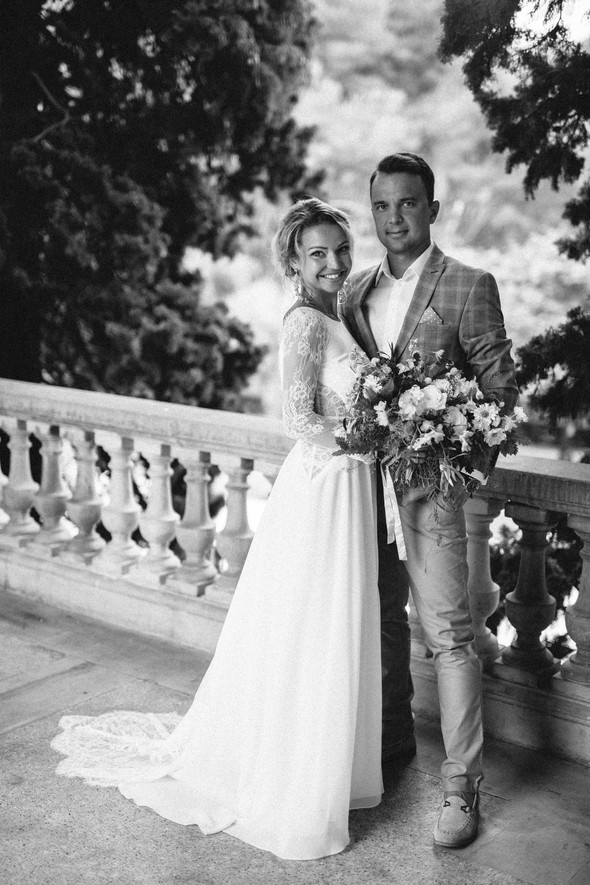 Испанская семейная свадьба на вилле недалеко от Барселоны - фото №51