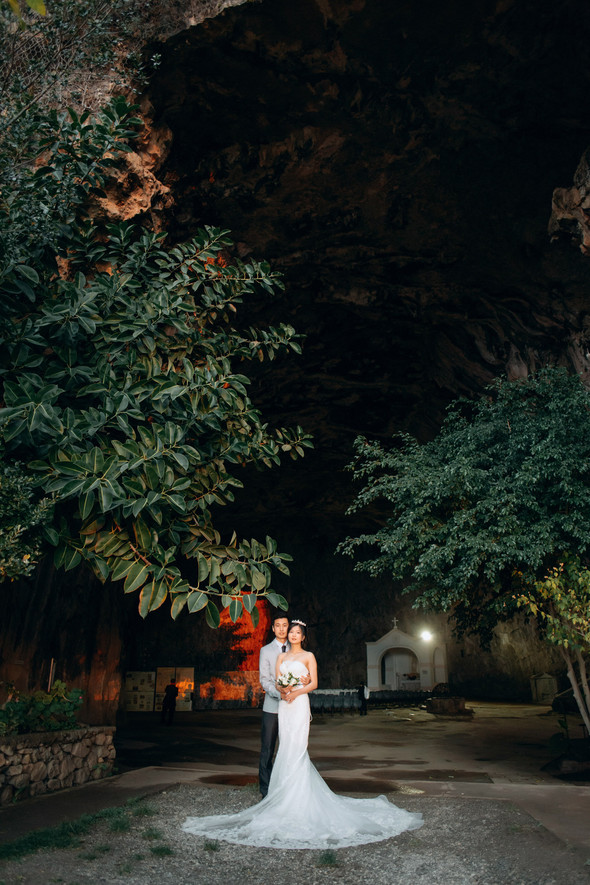 Позитивная семейная свадьба в Италии - фото №106