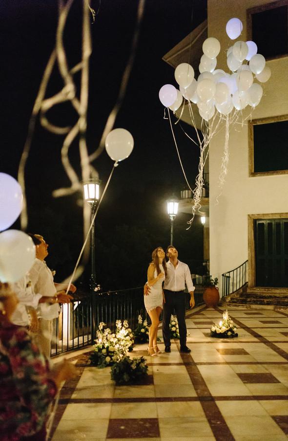 Красивая испанская свадьба на побережье - фото №121