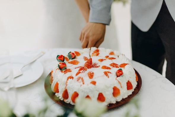Позитивная семейная свадьба в Италии - фото №127