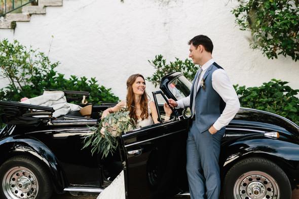Красивая испанская свадьба на побережье - фото №68