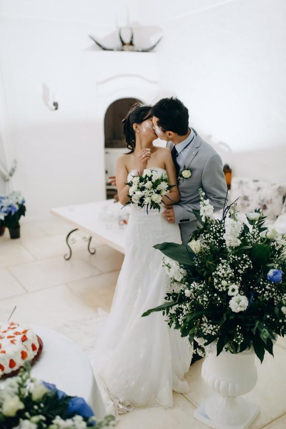 Позитивная семейная свадьба в Италии - фото №130