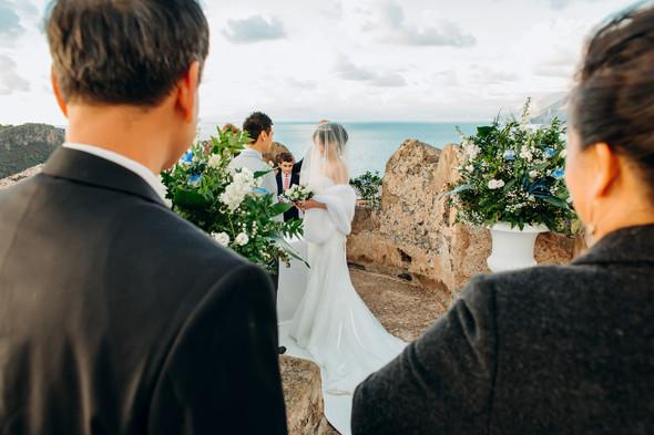 Позитивная семейная свадьба в Италии - фото №71