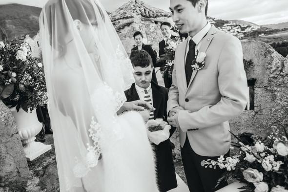 Позитивная семейная свадьба в Италии - фото №72