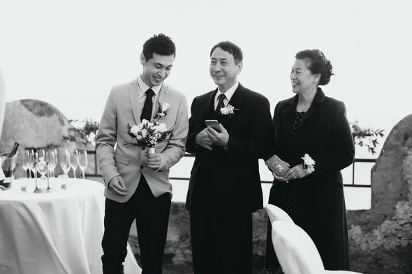 Позитивная семейная свадьба в Италии - фото №58