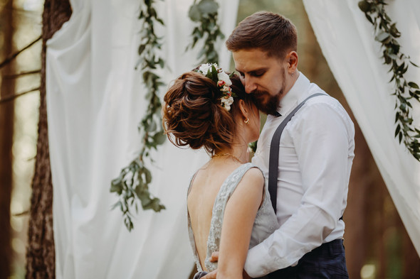 Лесная свадьба в Карпатах - фото №15