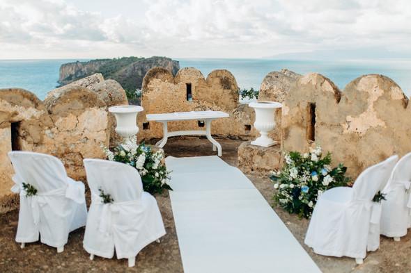 Позитивная семейная свадьба в Италии - фото №46