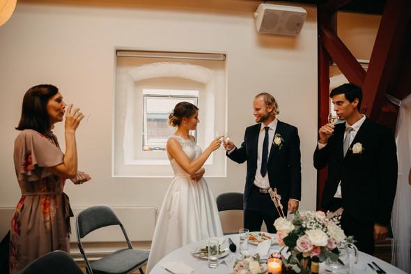 Атмосферная датская свадьба - фото №135