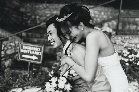 Позитивная семейная свадьба в Италии - фото №108